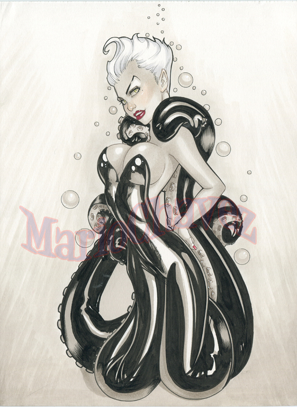 Young Ursula by Mario Chavez
