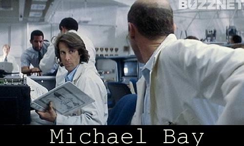 Michael Bay in 'Armageddon'