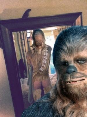 Chewbacca Scarlettjohanssoning