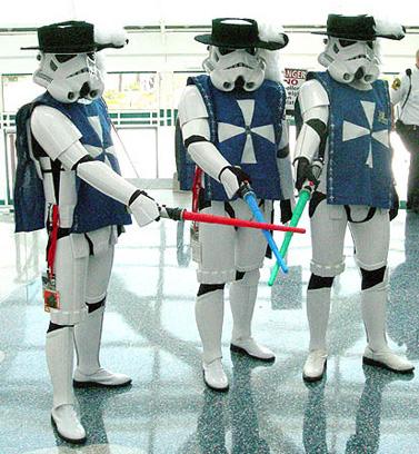 Three Musketeer Troopers