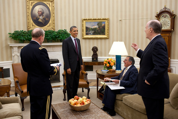 Donilon had no problem hypnotizing Obama, but he could only get Panetta to sneeze.  Source   CORR...