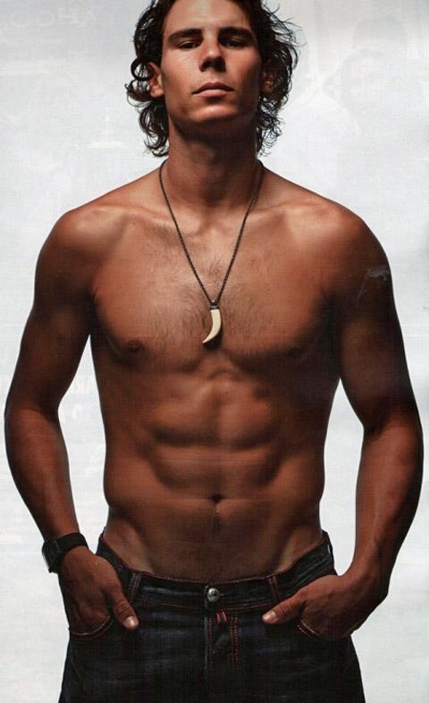 Image result for shirtless nadal