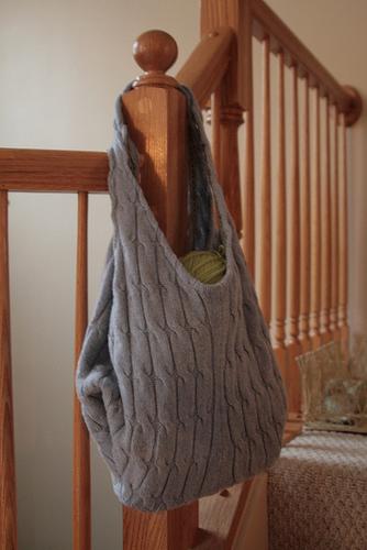 A floppy tote bag:
