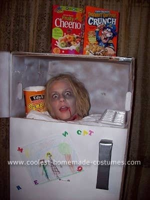 made from a water heater box so clever - Halloween Box Costumes