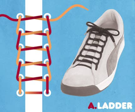 4c668f50d8cbe5 15 Cool Ways To Tie Shoelaces