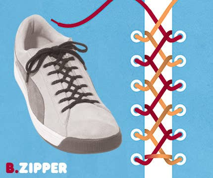 15 cool ways to tie shoelaces 2 ccuart Images