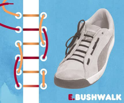 965aecfee9f 15 Cool Ways To Tie Shoelaces