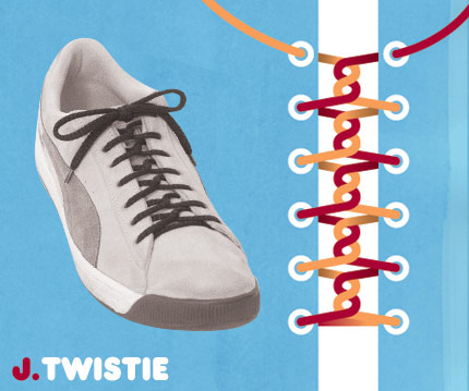 15 funky ways to tie shoelaces - enhanced buzz 6025 1351108895 6 - 15 Funky Ways To Tie Shoelaces