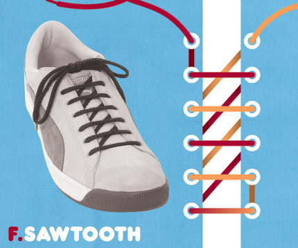 15 funky ways to tie shoelaces - enhanced buzz 6059 1351108861 1 - 15 Funky Ways To Tie Shoelaces