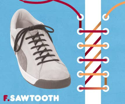 15 cool ways to tie shoelaces 6 ccuart Images