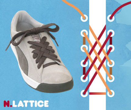 15 funky ways to tie shoelaces - enhanced buzz 6129 1351108926 1 - 15 Funky Ways To Tie Shoelaces