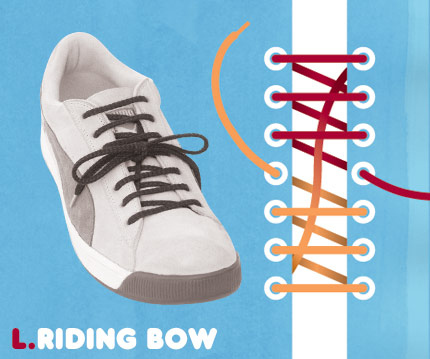 15 funky ways to tie shoelaces - enhanced buzz 6191 1351108911 3 - 15 Funky Ways To Tie Shoelaces