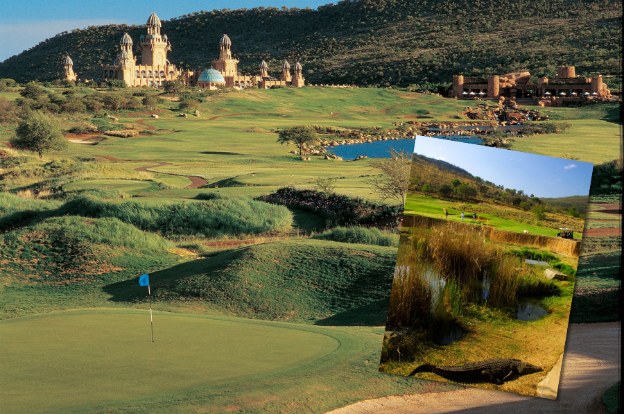 The Lost City Golf Course in South Africa
