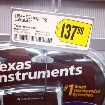 Why Do Ancient Graphing Calculators Still Cost So Much?