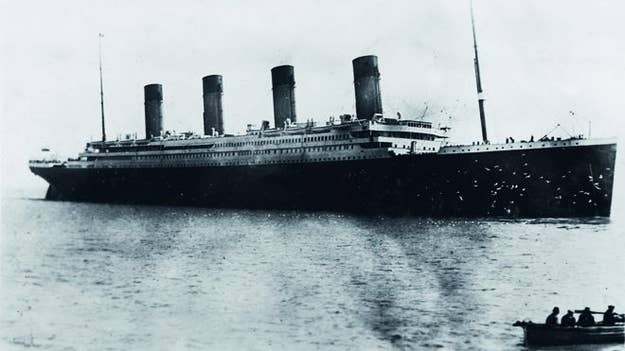 The last photo of the Titanic taken by Father Francis Browne.