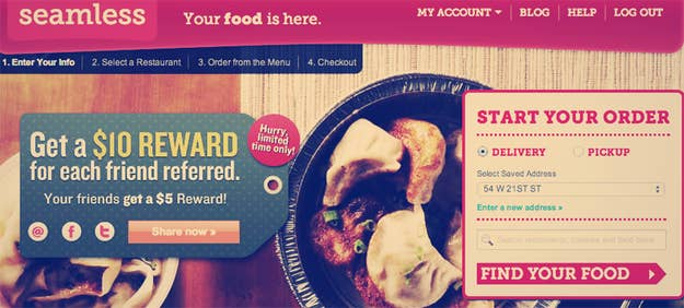 How To Trick Delivery Sites Into Sending You Food For Fun