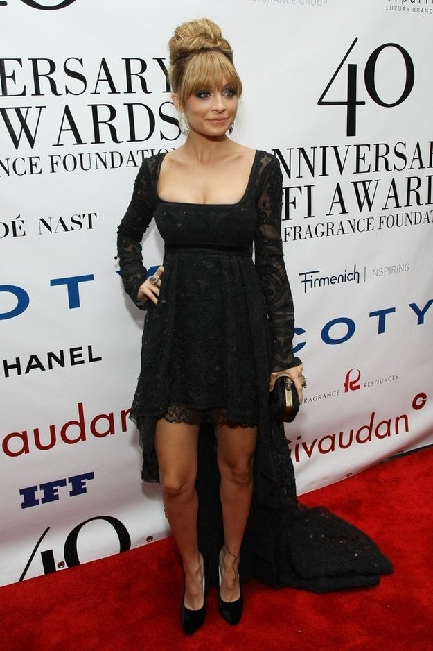 NEW YORK, NY - MAY 21: Nicole Richie attends the 40th Annual Fifi awards at Alice Tully Hall, Lincoln Center on May 21, 2012 in New York City.