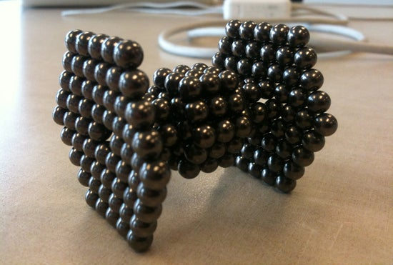 Photo By: Jeremy BoggsThe Consumer Product Safety Commission has put in an request to ban the magnetic balls since if swallowed (particularly by children) they can pinch one's intestines together which can be fatal without surgery.