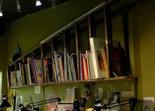 Another Ladder Bookshelf