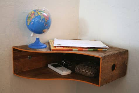 25 awesome diy ideas for bookshelves you can get one of these from ikea 999 for a set of 2 solutioingenieria Images