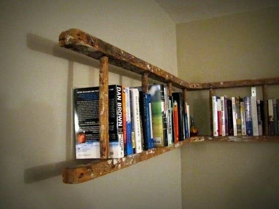 share on facebook share - Funky Bookshelves