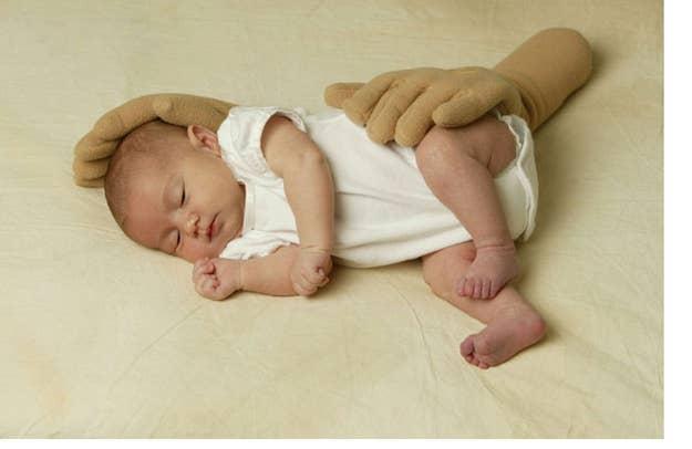 Image result for Hands Free Baby Cuddler