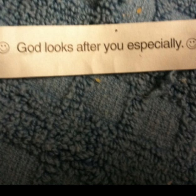I'm flattered, really, but there has got to be something else God could focus on for a little bit.