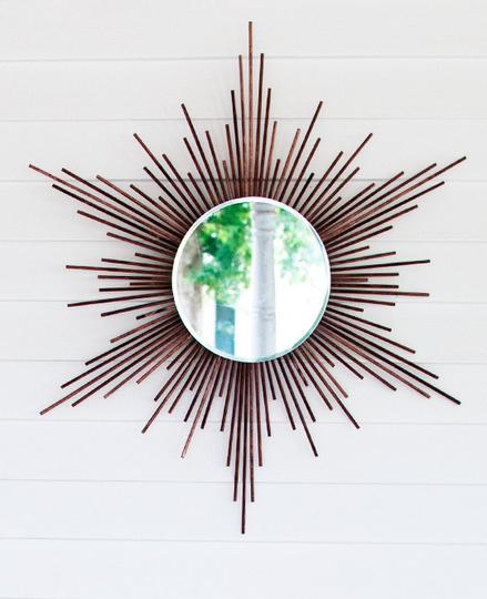 30. DIY Sunburst Mirror