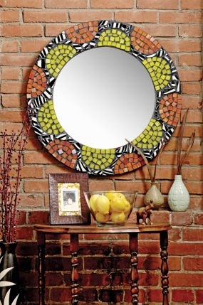 24. DIY Mosaic Mirror