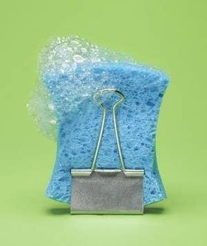 Esto permitirá que se seque al aire en lugar de que se empiece a poner toda mohosa.