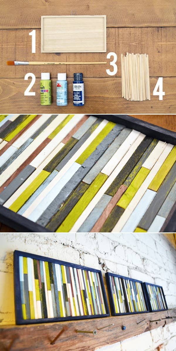 ideas for decorating wooden letters.htm 39 easy diy ways to create art for your walls  easy diy ways to create art for your walls