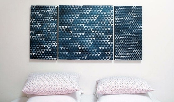 Amazing genuine diy canvas art walls 37 use jewel cases as photo frames photo 38 move around a lot while taking photos photo 39 make a really simple abstract painting solutioingenieria Image collections