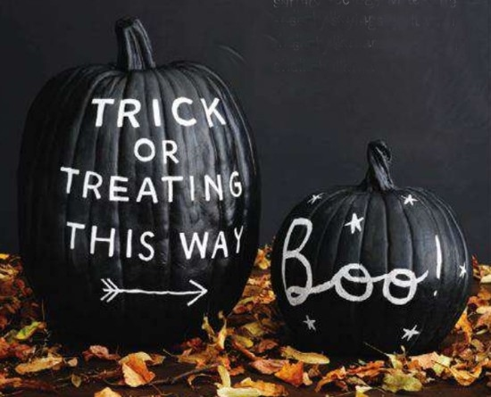 The Chalkboard Pumpkin