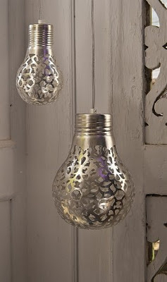 When the light shines through, it will cast a nice pattern on your walls.