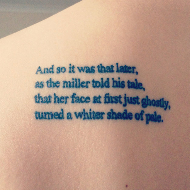 queen lyrics tattoo - photo #2