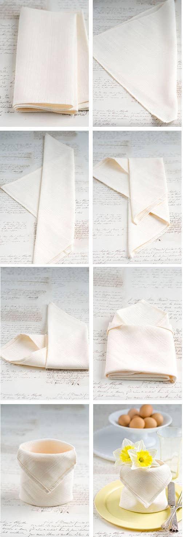 28 Creative Napkin Folding Techniques