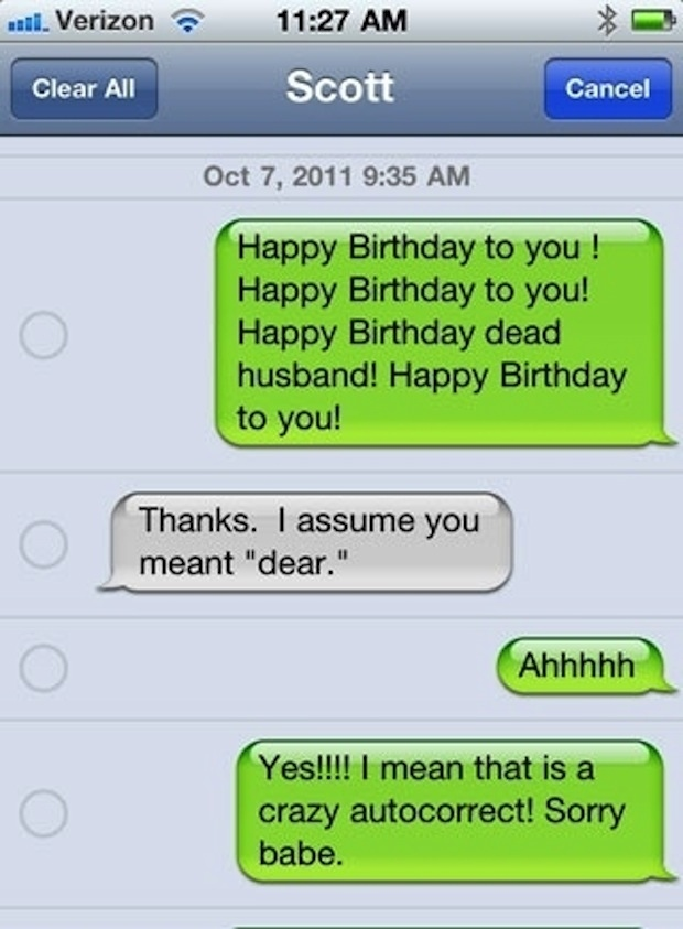 The 25 Funniest AutoCorrects Of 2012