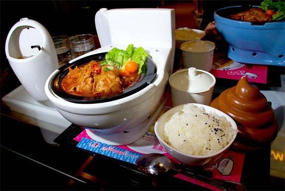 9 Eye Popping Photos From Taiwan S Modern Toilet Restaurant