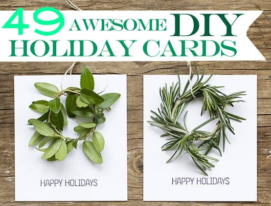49 awesome diy holiday cards share on facebook share solutioingenieria Gallery