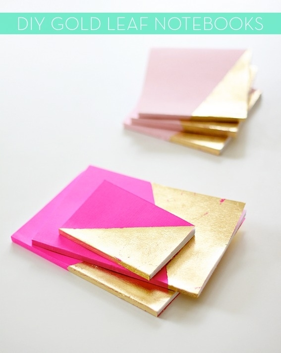 Gold Leaf Notebooks