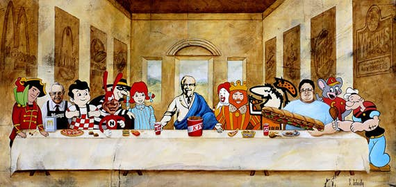 Image result for the last supper cute