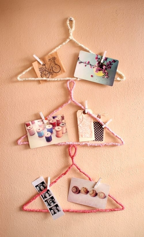 25. Hanger Inspiration Board