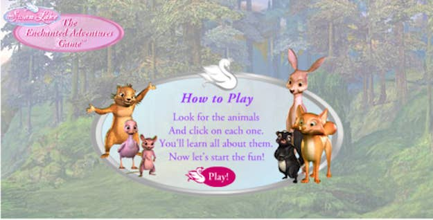 the old barbie website game