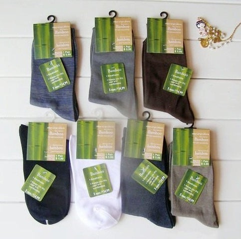Shipping can take upwards of 3 weeks, but where else can you get bamboo fiber socks for 81 cents apiece (with free shipping)?Two tips: don't expect the best quality, and do your research.