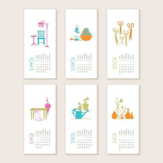 Creative Monthly Calendar Ideas : Pics for gt creative wall calendars ideas