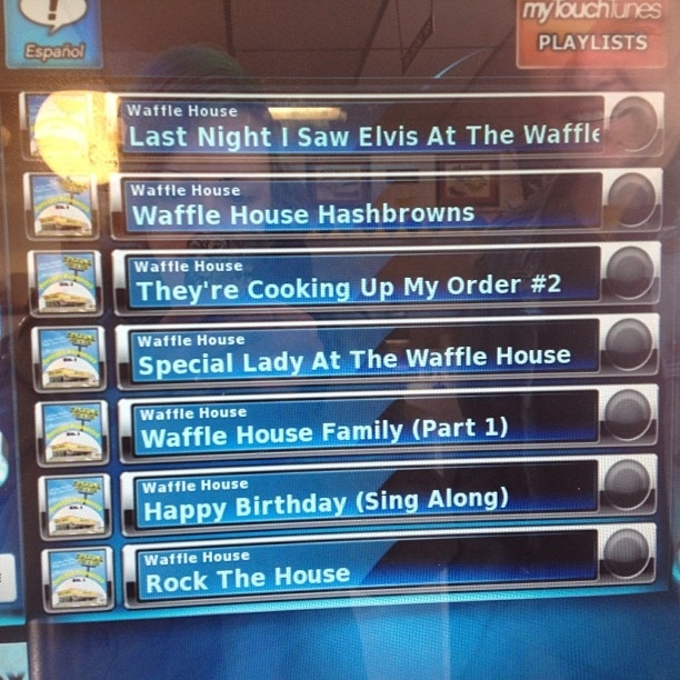 41 reasons waffle house is the one true source of for Waffle house classic jukebox favorites