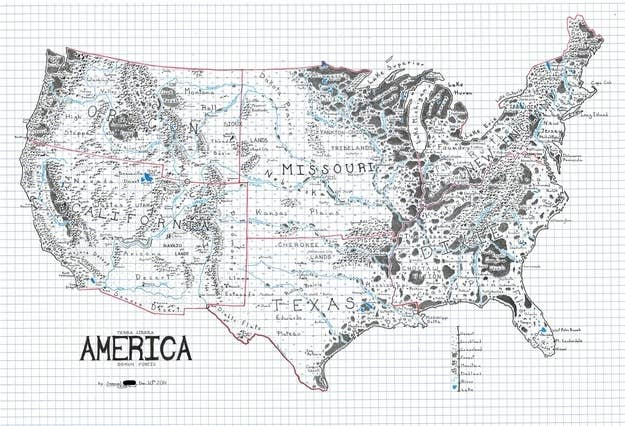 Maps You Never Knew You Needed - Gray us map