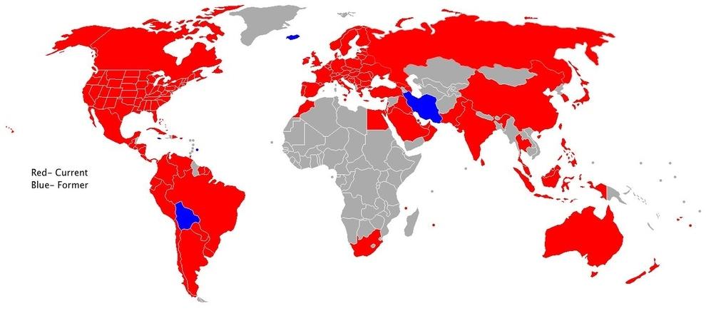 Estos son todos los países que tienen McDonald's: