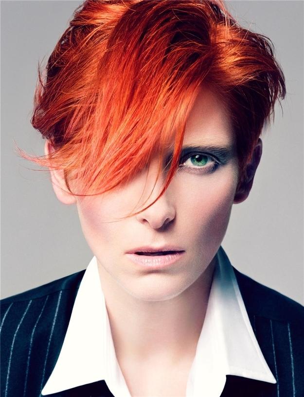 Redhead crotch hair