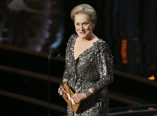 Why not just have the Queen of Hollywood preside over it all? She's personable and quirky, despite the grandeur of being entertainment's official Great Actress for decades now, and there is no one who doesn't love Meryl. If nothing else, no critic would have the guts to pan her if a couple jokes fell flat.